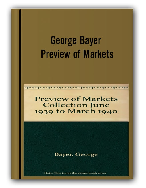 George Bayer - Preview of Markets