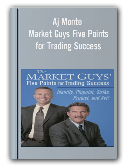 Aj Monte - Market Guys Five Points for Trading Success