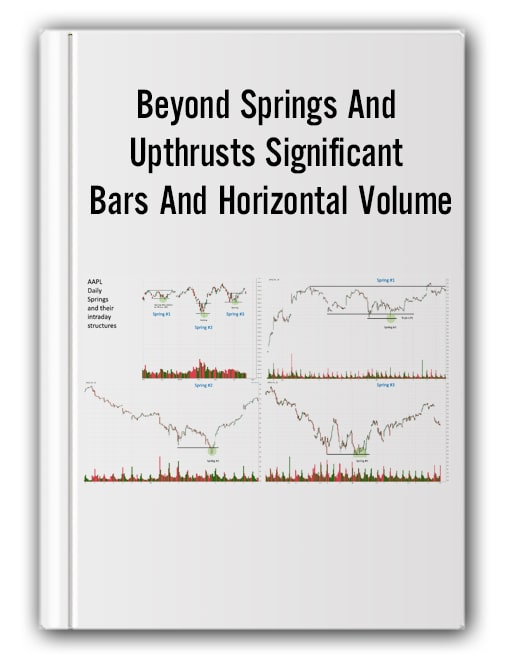 Beyond Springs And Upthrusts Significant Bars And Horizontal Volume