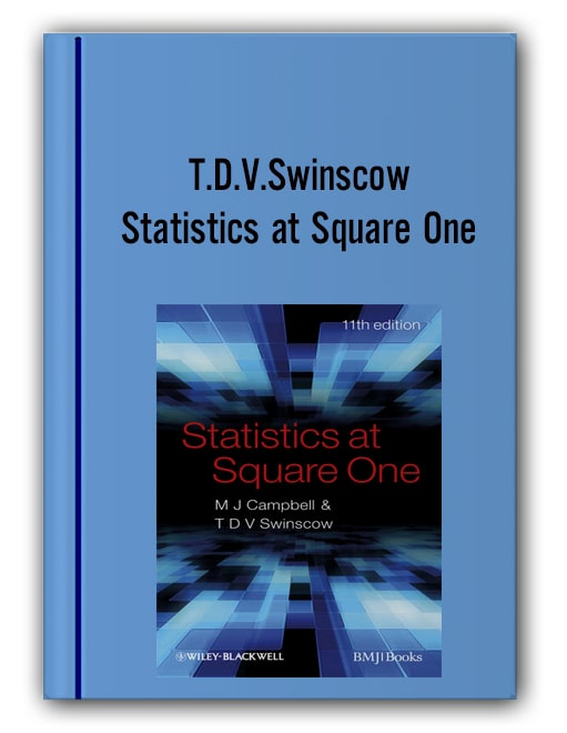 T.d.v.swinscow Statistics At Square One